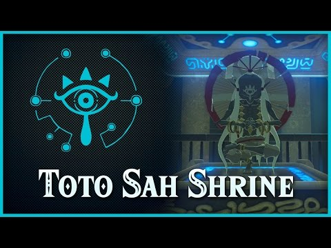 Zelda Breath Of The Wild • Toto Sah Shrine • Dueling Peaks