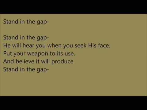 Petra - Stand In the Gap +Lyrics