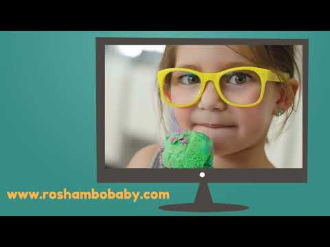 415c5b9336 How to Order Unbreakable Roshambo Baby Prescription Glasses - YouTube