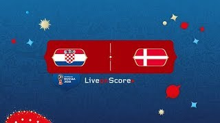 CROATIA VS DENMARK 2018 WORLD CUP LIVE ♛ RADAR GPS TRCHNOLOGY TYPES LIVE FOOTBALL ENGLISH COMMENTARY
