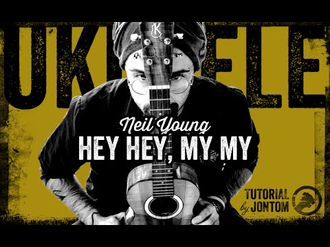 Neil Young Hey Hey My My Si Pu Fare Sullukuleleyou Can Do It