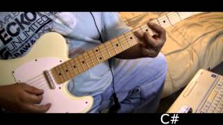 ROBIN THICKE - Ooh La LaBlurred lines - Guitar Play along