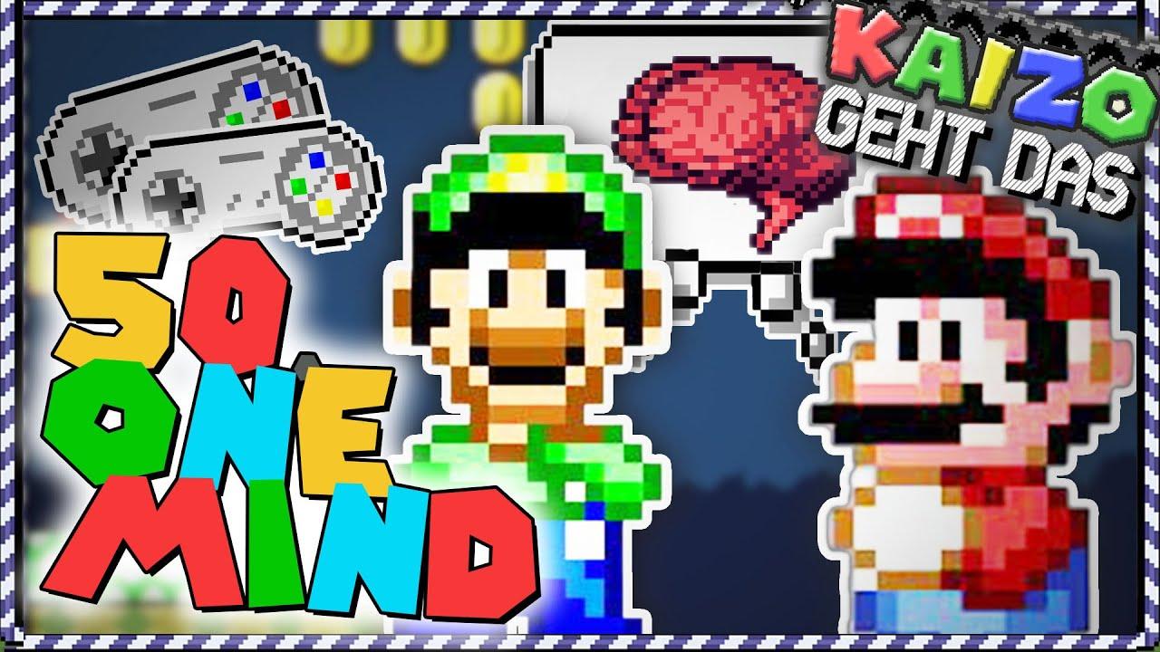 Kaizo geht das! - SMW One Mind Hack: Zwei Controller, Ein Spiel!