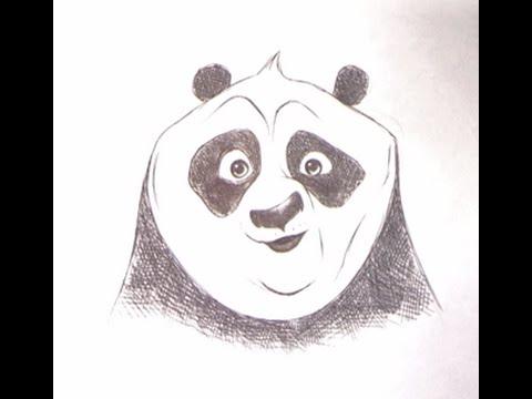 Disegnare po di kung fu panda youtube for Disegni belli da disegnare