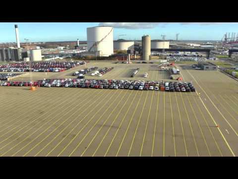 A day at the car terminal - Scandinavian Auto Logistics - 2
