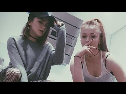 Maisie Williams And Sophie Turner Vine Compilation - YouTube
