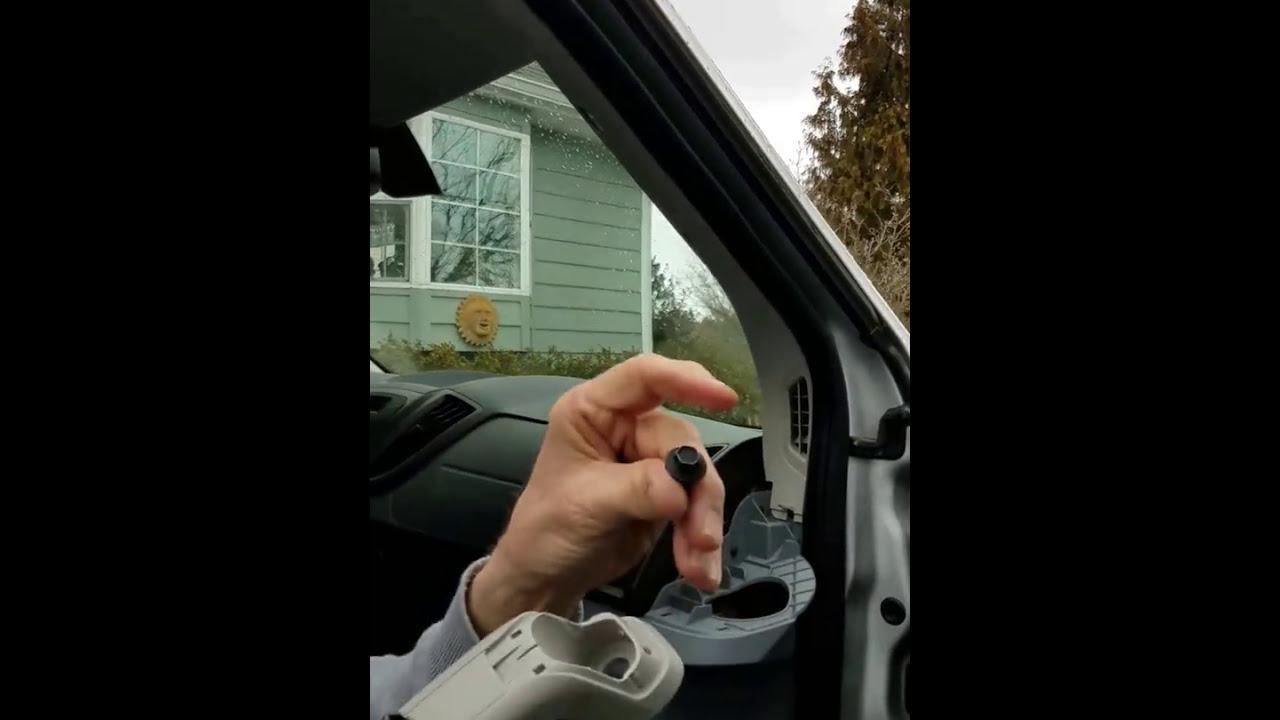 Ford Transit A pillar trim removal - YouTube