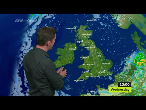 Wednesday morning forecast 12/07/17