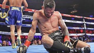 Vasyl Lomachenko BRUTAL BODYSHOT KNOCKOUT! vs Jorge Linares