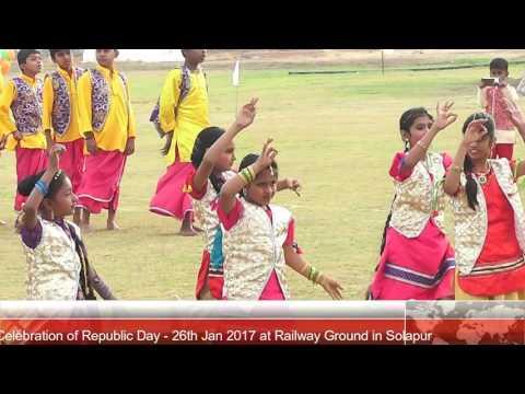26th Jan 2017 Republican Day Celebration at Railway Ground in Solapur