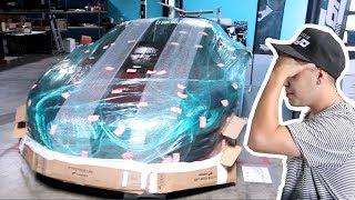 Wrapping Prank An Audi R8!