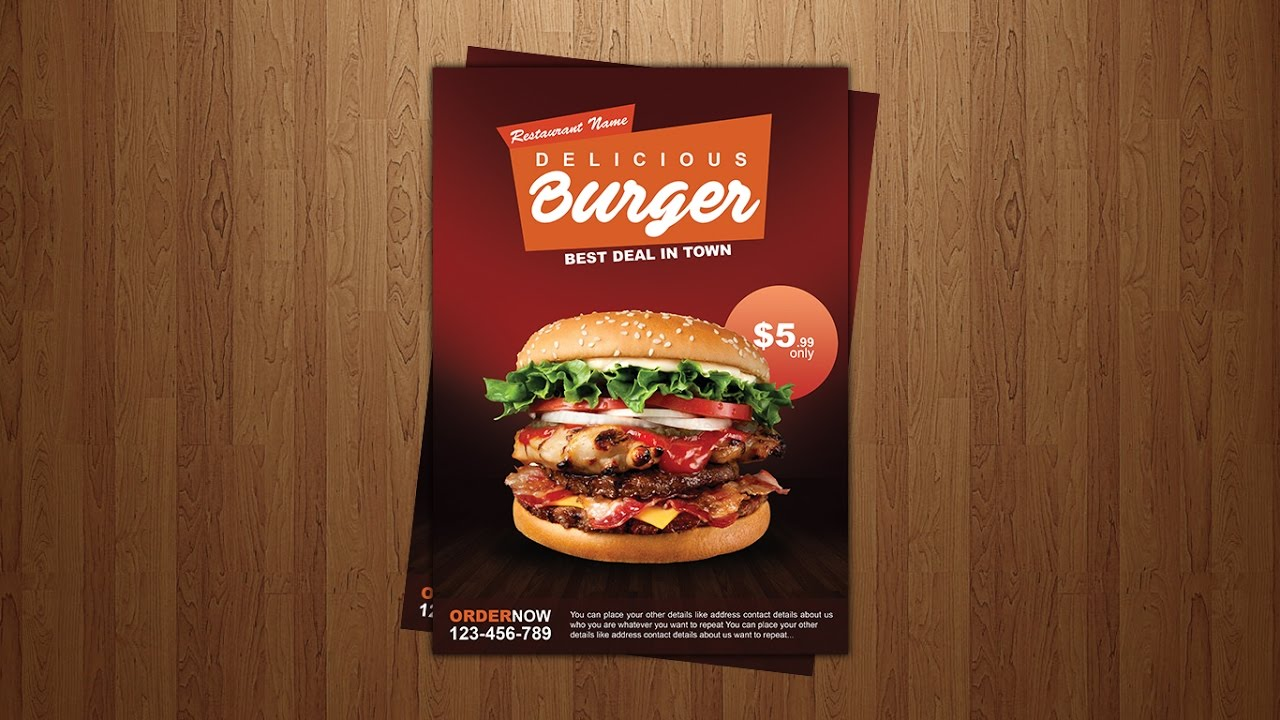 Food Posters For Restaurants