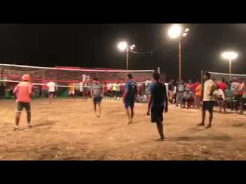 Shooting volleyball match Punjab vs MP 11.11.2017