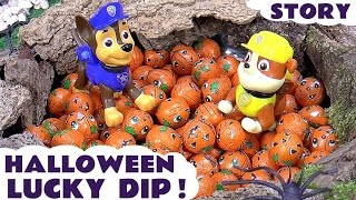 Paw Patrol Halloween Lucky Dip With Thomas And Friends | Minions Kinder Surprise Eggs Star Wars