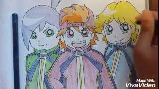 Drawing Rowdyruff Boys Z