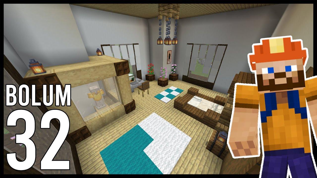 ARTIK YATAK ODAM VAR! Minecraft: Modsuz Survival   S6 Bölüm 32