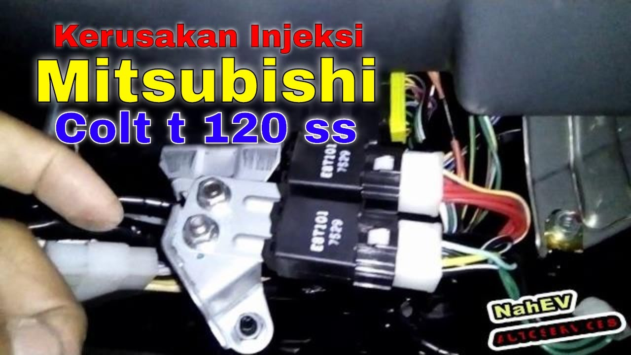 Engine Mitsubishi Colt T 120 Ss Multi Point Injection Youtube