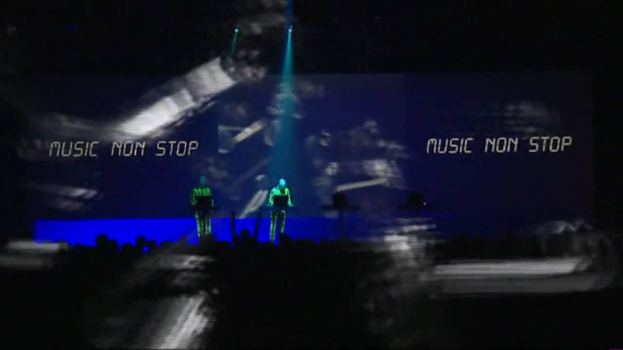 Kraftwerk Music Non Stop Live Hd Youtube