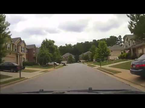 Police dash cam video shows race through Newnan