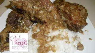 Pork Neck Bones & Gravy Recipe - I Heart Recipes
