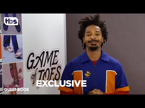 The Guest Book: Eddie Steeples - Game of Toes [EXCLUSIVE] | TBS