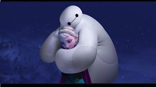 Repeat youtube video Baymax Epic Frozen PARODY Do you want to build a snowman Anna