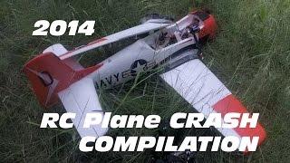 RC Plane Crash Compilation  2014 vol.1