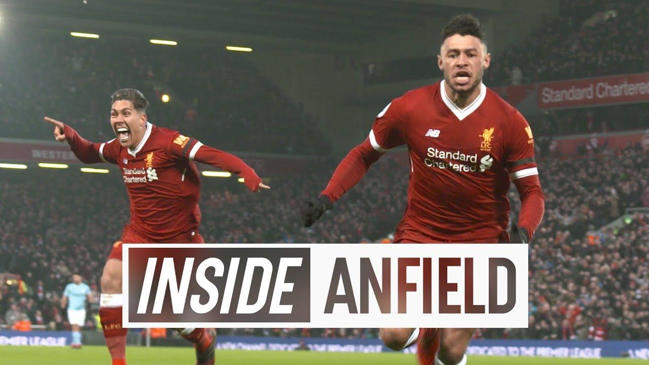 Inside Anfield: Liverpool 4-3 Man City | Unseen tunnel cam from seven-goal thriller #1