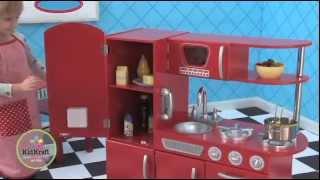 Kidkraft Red Vintage Kitchen Odyssey Homestore Kids