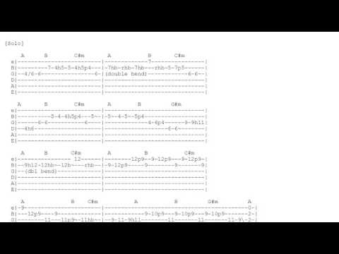 Lady Writer - Dire Straits - Tabs and Chords