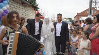 Красивая национальная свадьба в Осетии с. Ногир Осетия