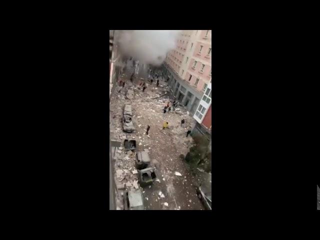 Conmoción en Madrid: Al explotar edificio