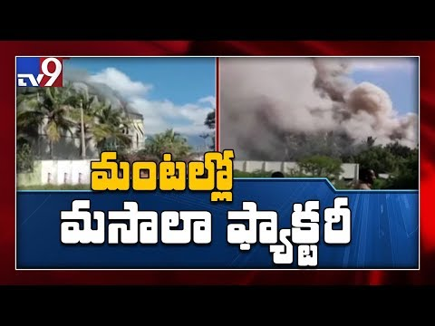 Massive fire accident at spice factory in Tamil Nadu - TV9