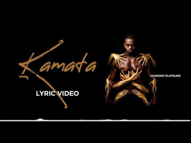 Diamond Platnumz - Kamata Audio (Lyric Video)