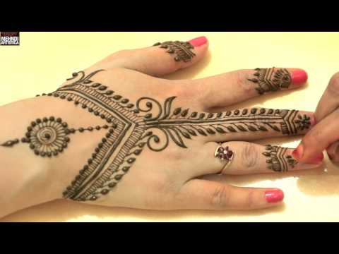 Easy Simple Unique Egyptian Henna Mehndi Designs