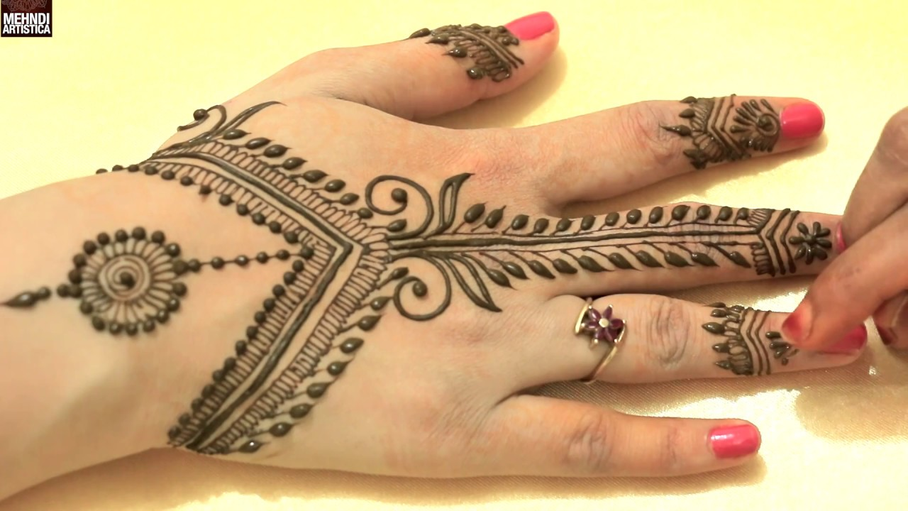 Egyptian Henna Designs: Easy Simple Unique Egyptian Henna Mehndi Designs