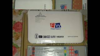 Fastway cable new hd box