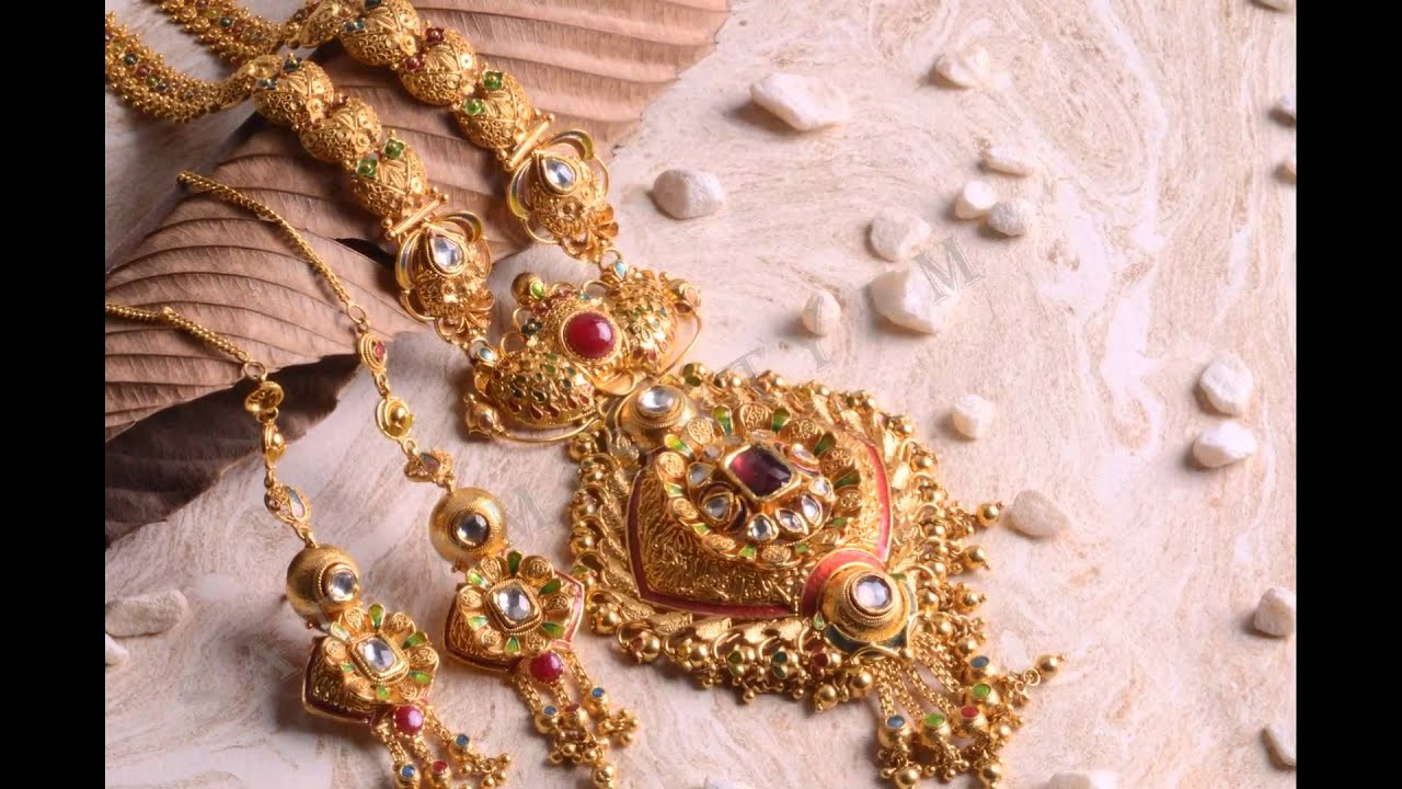 Gold Jewellery | Haar | Satyam Jewellers - YouTube