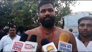मुरैना के विजेता जोगेन्दर पहलवान ने दंगल  AAP KI ADALAT