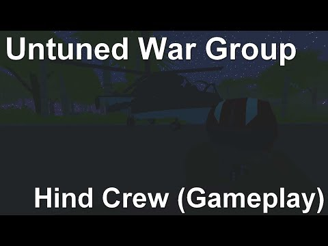 [S-M] Unturned War Group - Hind Crew (Air-Strike)