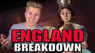 Civilization 6: Gameplay - England [First Look Trailer Breakdown]