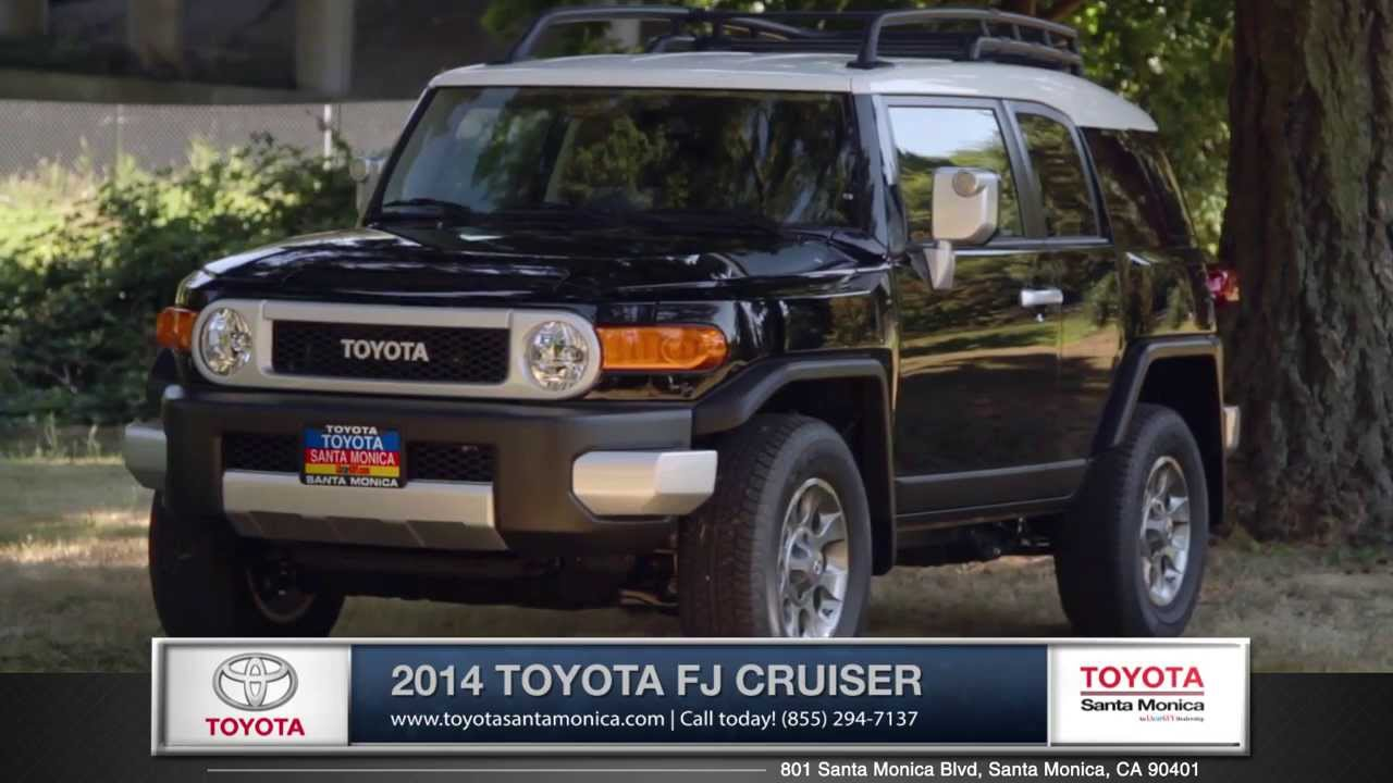2014 Toyota FJ Cruiser Walk Around | Toyota Santa Monica   Also Serving L.A  U0026 Marina Del Rey, CA