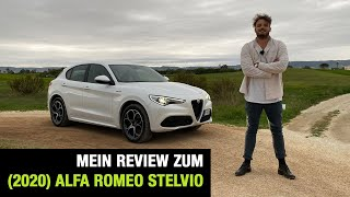 "2020 Alfa Romeo Stelvio ""Veloce"" (280 PS) 🇮🇹 Fahrbericht 