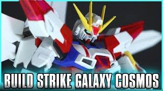 HGBF 1/144 Build Strike Galaxy Cosmos Review - GUNDAM BUILD FIGHTERS BATTLOGUE - ビルドストライクギャラクシーコスモス