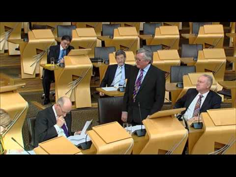 Ministerial Statement - Scottish Parliament: 25th March 2015