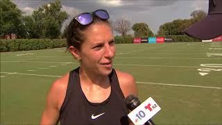 Carli Lloyd kicked field goals during Philadelphia Eagles practice