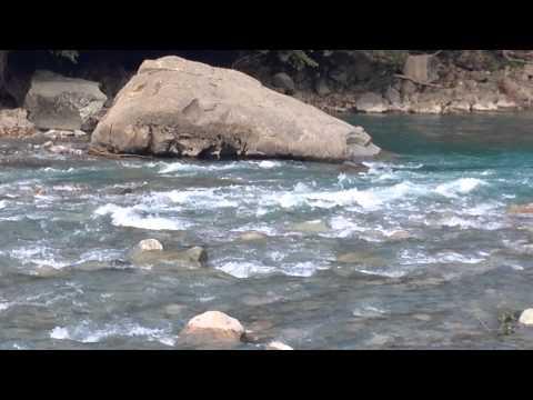 Горная река Псезуапсе (чистая вода)