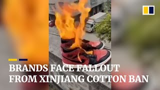 Global brands face backlash in China for rejecting Xinjiang cotton