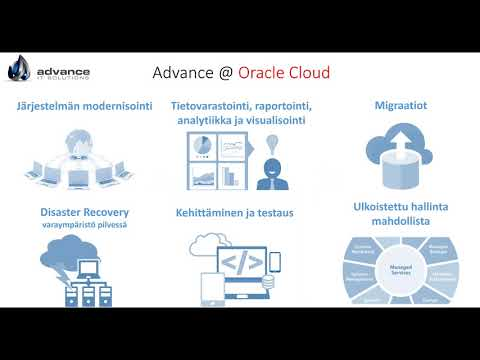 Webinar Advanced IT Solutions Oy Oracle Infrastructure-as-a-Service