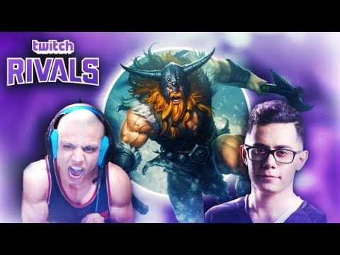 TWITCH RIVALS SCRIMS Team Tyler1 vs TF Blade  League of Legends